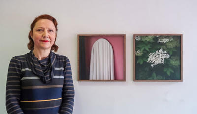 Rua Red starts its new collection with two pieces from Mary Furlong's photographic series 'The Red Ribbon'