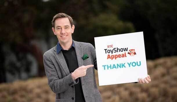 Rua Red Awarded RTÉ Toy Show Appeal Grant