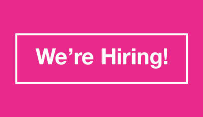 We're Hiring | Maternity Cover Education and Outreach Executive