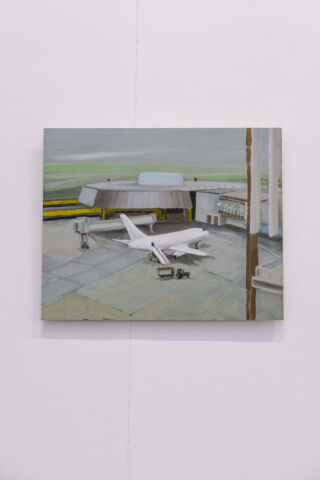 'Dublin Airport' by Aisling Ní Aodha. Rua Red Winter Open, 'Hindsight is 2020'. Photo by David Reilly